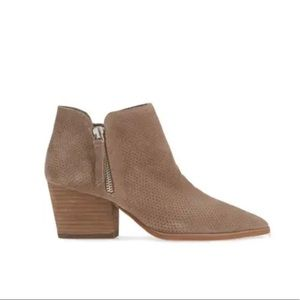 Nethera Perforated Bootie by Vince Camuto